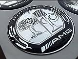 AMG Affalterbach ★4 Stück Aufkleber Emblem Felgen Nabendeckel Radkappen 65mm
