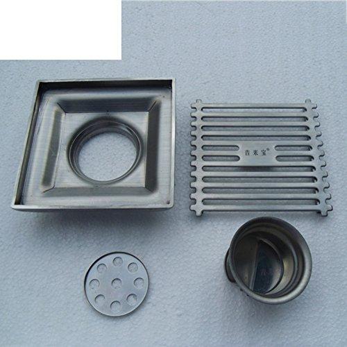 HCP Dicken Bodenablauf Edelstahl/Platte Insekt Deodorant Boden Leckage zu übersetzen