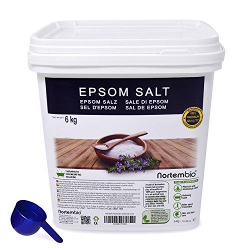 Sal de Epsom NortemBio 6 Kg, Fuente concentrada de...