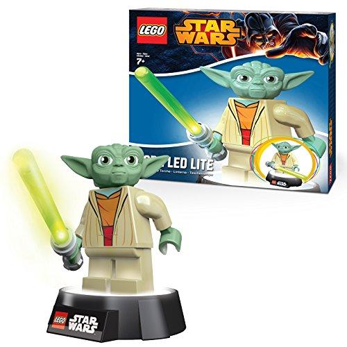 Lego Star Wars Neu LED Lite Taschenlampe Yoda Minifigur Tisch Hell Lamp