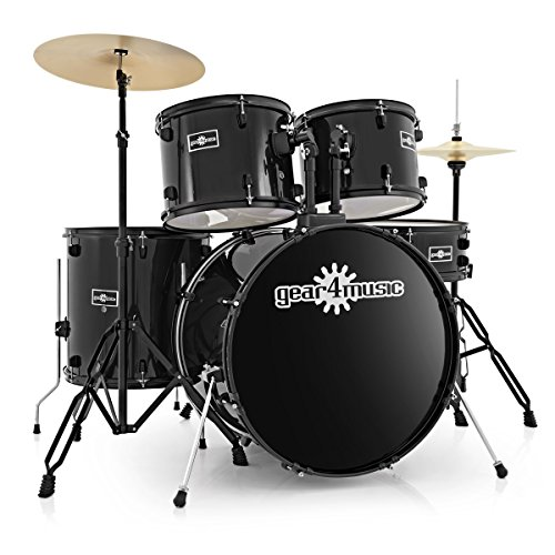 bdk-1-full-size-starter-drum-kit-by-gear4music-black