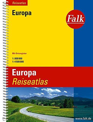 Preisvergleich Produktbild Falk Reiseatlas Europa (Falk Atlanten)