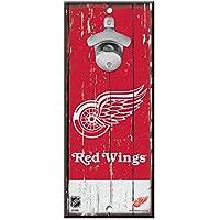 WinCraft Detroit Red Wings NHL Schild mit Flaschenöffner
