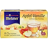Meßmer Apfel/Vanille Tee 20 TB, 50 g Packung