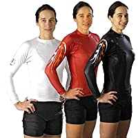 Rash Guard langarm Under-Gi speziell f/ür Damen