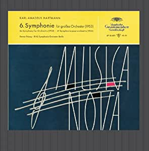 Hartmann: Symphony No.8 / Blacher: Paganini Variations