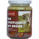Gut Krauscha Rindfleisch mit Brühe (320 g) - Bio