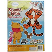 Large Wall Decoration Sticker Kit - Winnie the Pooh, Tigger & Friends - by Disney