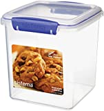 Sistema KLIP IT Cookie Tub, 2.35 L - Clear with Blue Clips