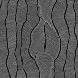 Rohr-Trading.SURFACES Selbstklebende Folie I Tapete I Klebefolie für Möbel Küche Deko I Möbelfolie I Küchenfolie I inkl Filzrakel I Metallic I Metalloptik I Metall Motiv Silber - Ravenna [150 x 45cm]