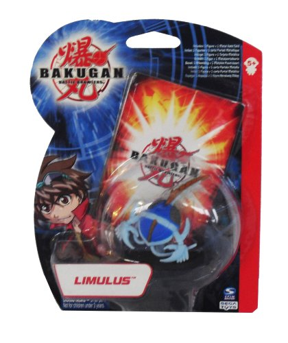 Bakugan B1 Action Figure LImulus with 1 Metal Gate Card