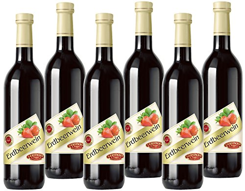 GERTSACKER Erdbeerwein Beerenwein (6 x 0,745 l)