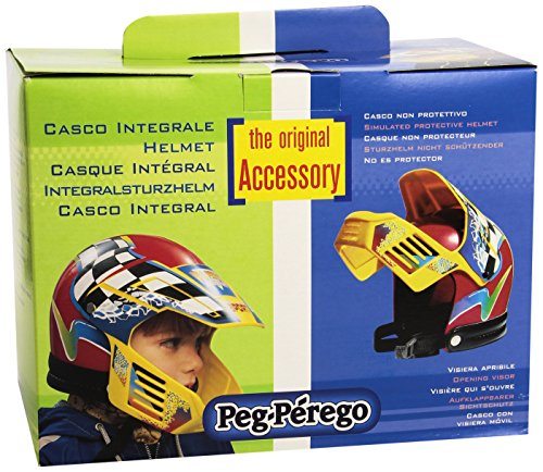 Peg Perego Casco integral, rojo