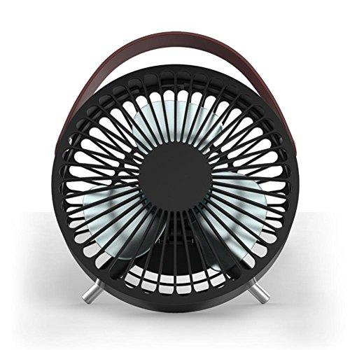 Ventilador eléctrico de la base de mover la cabeza mini ventilador dormitorio...