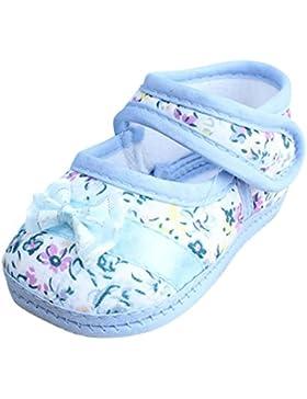 Clode® Baby Girl Soft Sohle Bowknot Print Anti-Rutsch-Casual Schuhe Kleinkind