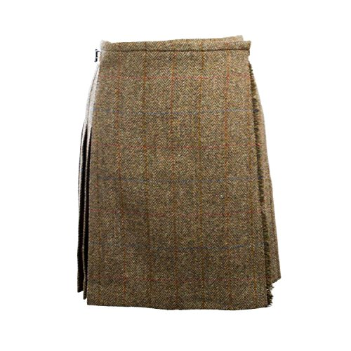 Harris Tweed Damen Rock Gr. 42, grün