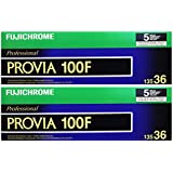 10-Rouleaux Fujichrome Provia 100F-35mm RDP III 135-36 Fujifilm Daylight-Balance Film Transparent couleur Marché approprié, photographie de mode Voyage et tir en plein air