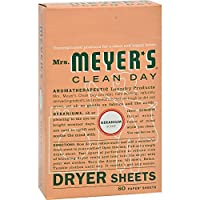 Laundry by Shelli Segal 2Pack Mrs MeyerS Dryer Sheets Geranium 80 Sheets