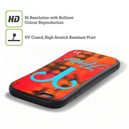 Ufficiale WondrousCre8tions Gemelli Segni Zodiacali Case Ibrida per Apple iPhone 7 Ariete