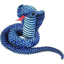 Lazada Cobra Serpiente Peluche Azul Enfant Jouet Cadeau Décoration 25cm