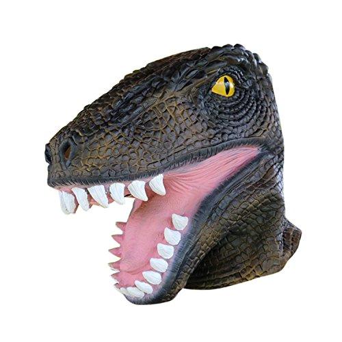 Dinosaurier Latex Tier Halloween Kopf Maske gruselig Kostüm Maske Raubtier Drachen volle Gesichtsmaske für cosplay Karneval Festival von yunhigh