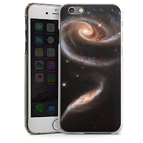 Apple iPhone 4 Housse Étui Silicone Coque Protection Galaxie Espace Galaxie CasDur transparent