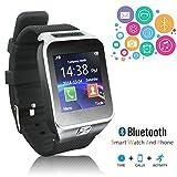 Indigi con® display OLED Smart polso Bluetooth nero Smartwatch per tutti i modelli - Best Reviews Guide