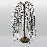 Burgund PIP Berry Weeping Willow Tree von cvhomedeco. Rustikal Vintage Dekoration Kunst, 61cm