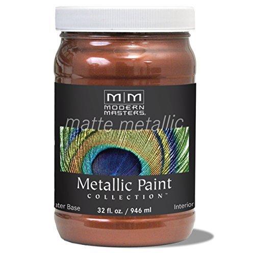 modern-masters-mm205-matte-metallic-paint-antique-copper-quart-by-modern-masters