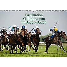 Faszination Galopprennen in Baden-Baden (Wandkalender 2016 DIN A3 quer): Galoppsport in Iffezheim, Baden-Baden (Monatskalender, 14 Seiten) (CALVENDO Sport)