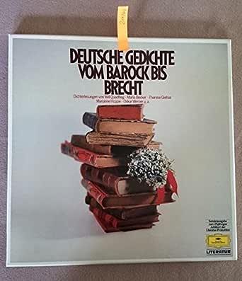 Deutsche Gedichte vom Barock bis Brecht [Vinyl