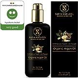 Bio Arganöl Fair Trade 200ml von SatinNaturel - höchste Qualität Kalt-gepresst in Lichtschutz...