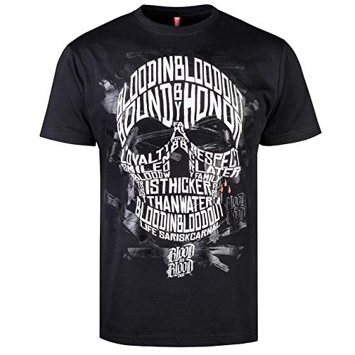 Blood In Blood Out Sick Skull T-Shirt 2XL