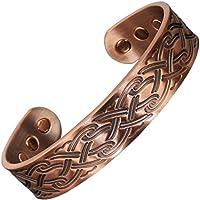 Herren Celtic Armband Kupfer Armbänder für Schmerzlinderung Magnetische Armbänder für Arthritis Karpaltunnelsyndrom... preisvergleich bei billige-tabletten.eu