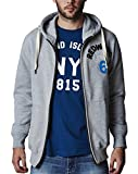 Mens Jacamo Oakland Full Zip Hooded Top