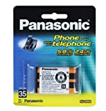 Best GENERIC Rechargeable Batteries - For Panasonic Cordless Phone Rechargeable HHR-P107 3.6V 650mAh Review