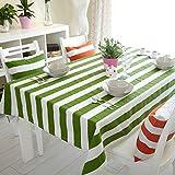 Tovaglia per la casa,tovaglia vintage,zebrato bordo tabella di tè pulito moderno semplice panno di tabella oblunga.-A 65x65cm(26x26inch)