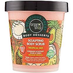 Organic Shop Scrub Corpo Modellante Tropical Mix - 680 Grammi