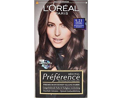 Loreal Recital Preference 5.21Letoile intensives freddo marrone chiaro 180ml