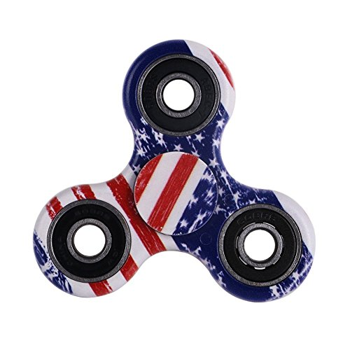 Spinner Fidget EDC ADHD Focus Toy Ultra Durable High Speed Si3N4 Hybrid Ceramic Bearing 1-3 Min Spins Non-15D Printed