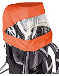 VAUDE Sun-Raincover-Combination Shuttle - Cubre-mochilas color orange, talla one size