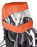 VAUDE Sun-Raincover-Combination Shuttle Accesorio, Unisex niños, Naranja, Talla Única