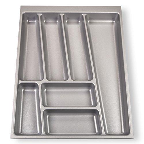 Sotech orga-box® ii inserto portaposate per nobilia cassetto da 45 (462 x 355 mm) grigio argento