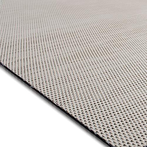 casa pura Design Bodenschutzmatte Palermo in 6 Größen | dekorative Unterlegmatte für Bürostühle oder Sportgeräte (150 x 180 cm)