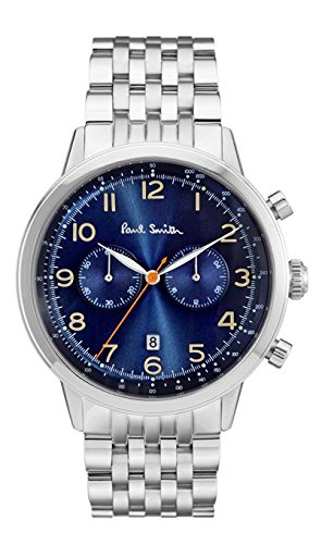 paul-smith-mens-quartz-watch-with-blue-dial-chronograph-display-and-silver-stainless-steel-bracelet-