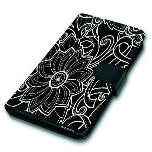 Wallet Book Style Flip Handy Tasche Case Schutz Hülle Schale Motiv Etui für Apple iPhone 6 Plus / 6S Plus - Variante UMV17 Design12 Design 9