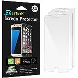 """Protection écran iPhone 7, JETech 3-Pack Protecteur d'écran film HD Effacer Emballages de vente au Détail pour Apple iPhone 7 4.7"""" - 0982"""