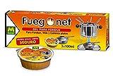 FUEGO NET Fuegonet 231112 Gel para Fondues, Transparente, 3 x 8.5 x 26.5 cm