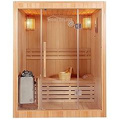 Idea Regalo - Home Deluxe Skyline L sauna, incl. accessori