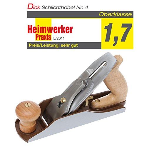 DICTUM® Schlichthobel Nr. 4